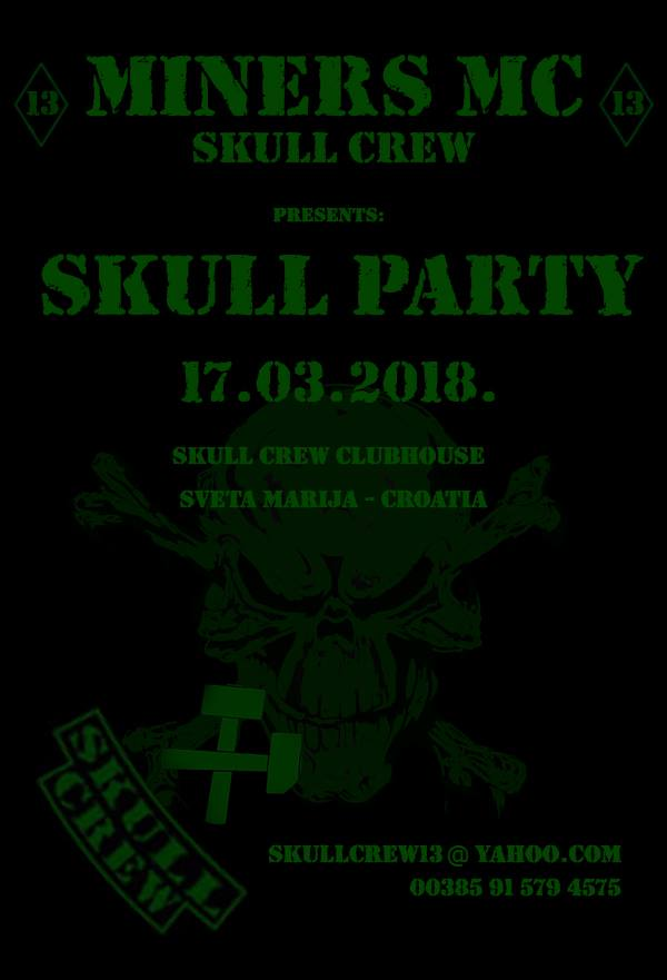 skulcrew party2018